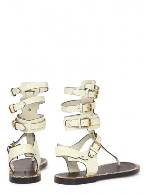 2c460e976ab1 Jeepy ecru leather sandals