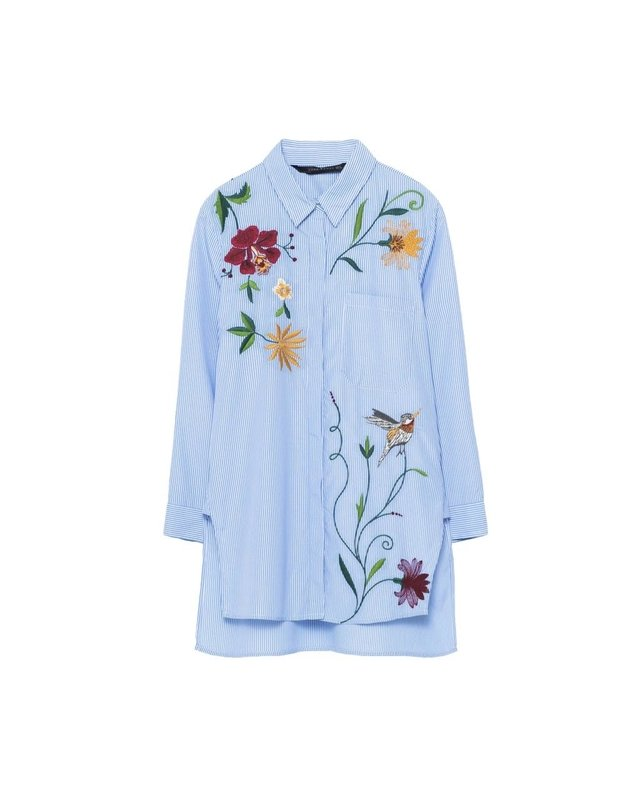 Embroidered shirt endource