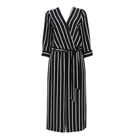 Pinstripe Jumpsuit by Wallis