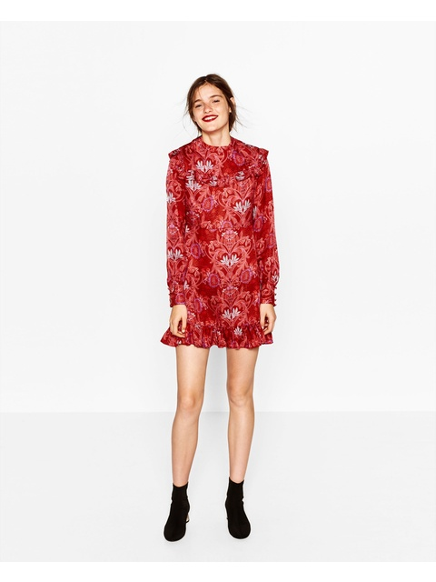 eb130ec111dd Jacquard Mini Dress | Endource