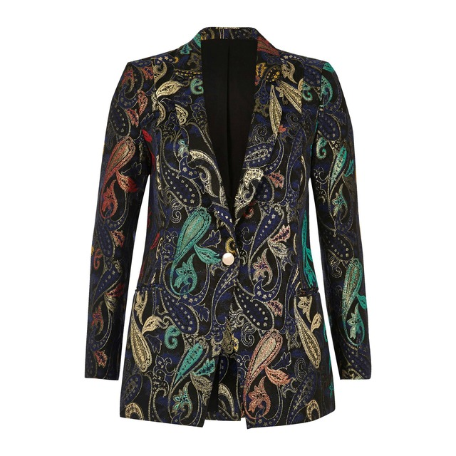 Jacket Suit Jacket Jacquard Endource Metallic Metallic Jacquard Endource Metallic Suit 66745rqHn