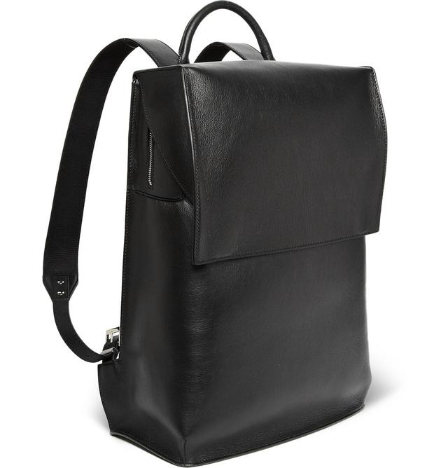 SEMI-STRUCTURED LEATHER BACKPACK | Endource