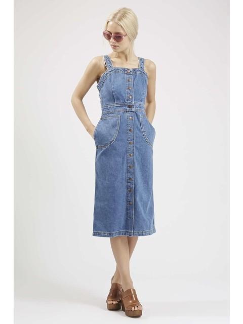 31ba8a7b4c5 Denim Pinafore Dress | Endource