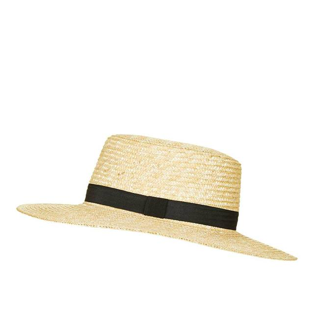 Natural Straw Boater Hat  f613f455dd9