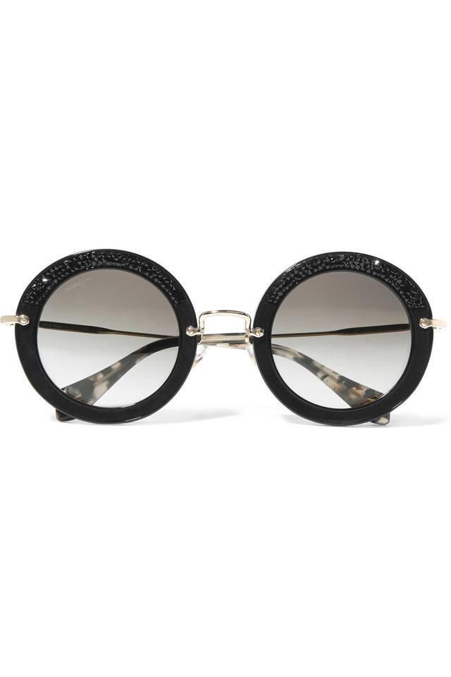 Miu Miu Sunglasses Round  oversized round sunglasses endource