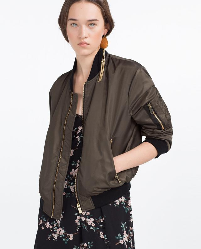 Quilted Bomber Jacket | Endource