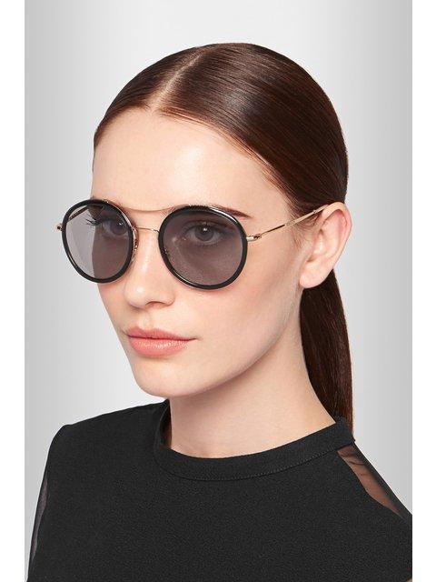 8367e52674 Round-frame Sunglasses