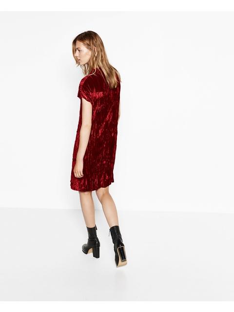 6a7995f6 Crushed Velvet Dress | Endource