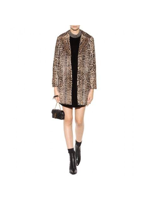 c0159dec5979 Leopard-Print Coat