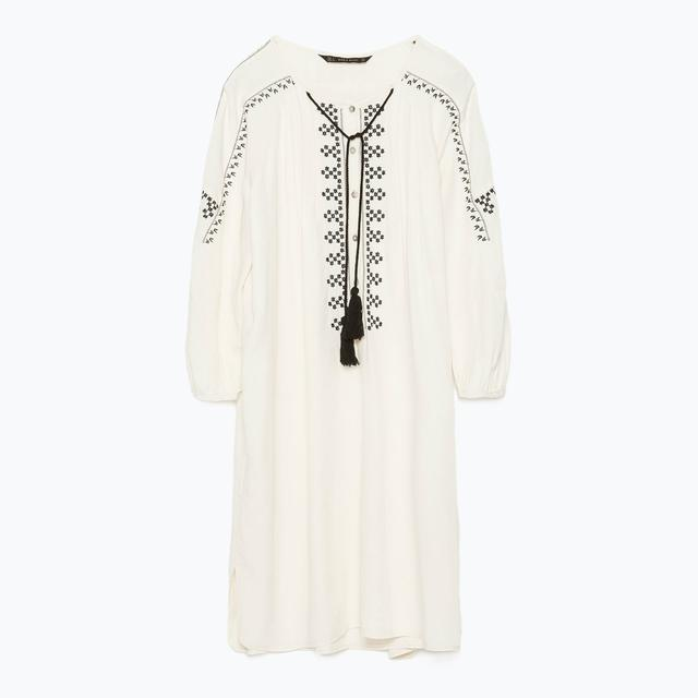 8bb0bc94 Embroidered Tunic Dress | Endource
