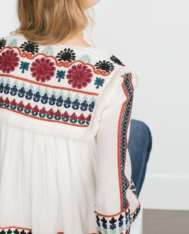 Embroidered jacket endource
