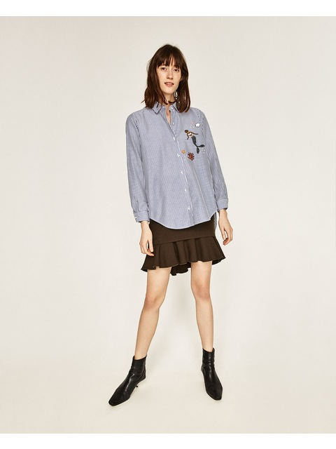 6e48c83ff0 Oversized Embroidered Shirt | Endource