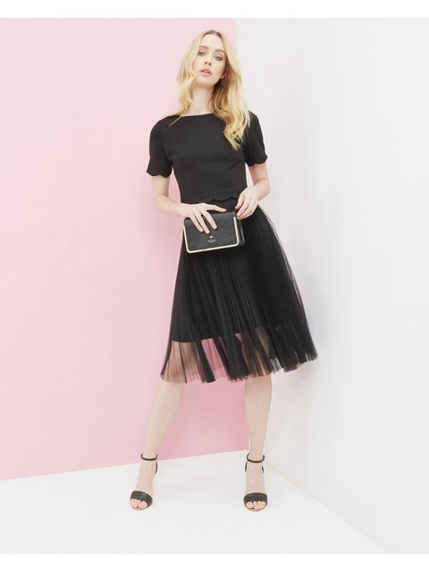 b48bc423d Filita Pleated Tulle Skirt | Endource
