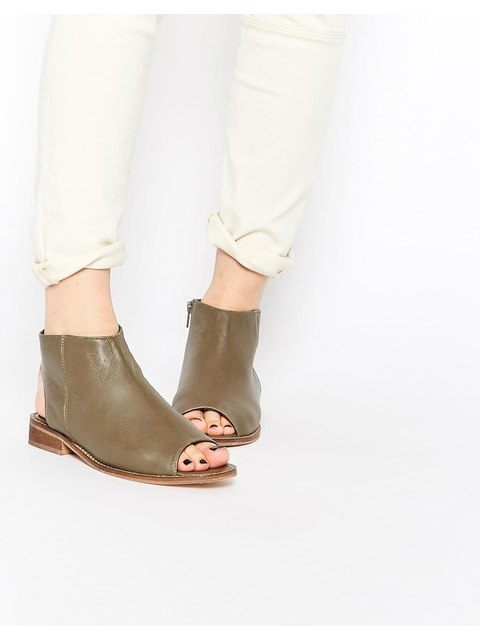 a748d7ee47 Peep Toe Ankle Boots | Endource