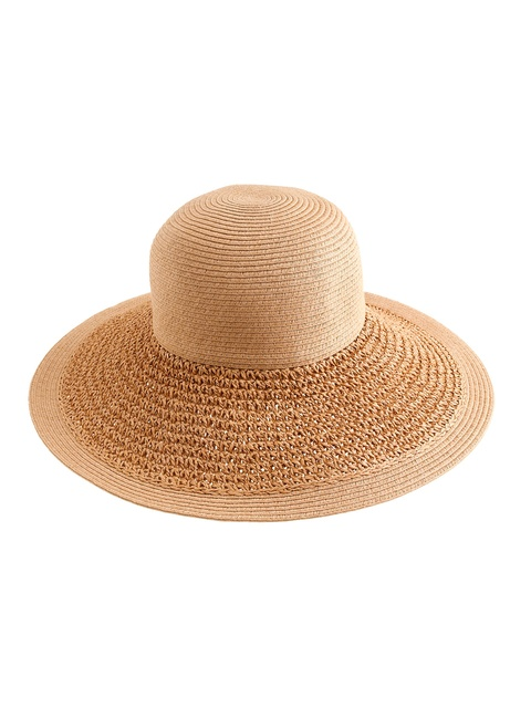 b265e450b2d3e Textured Summer Straw Hat