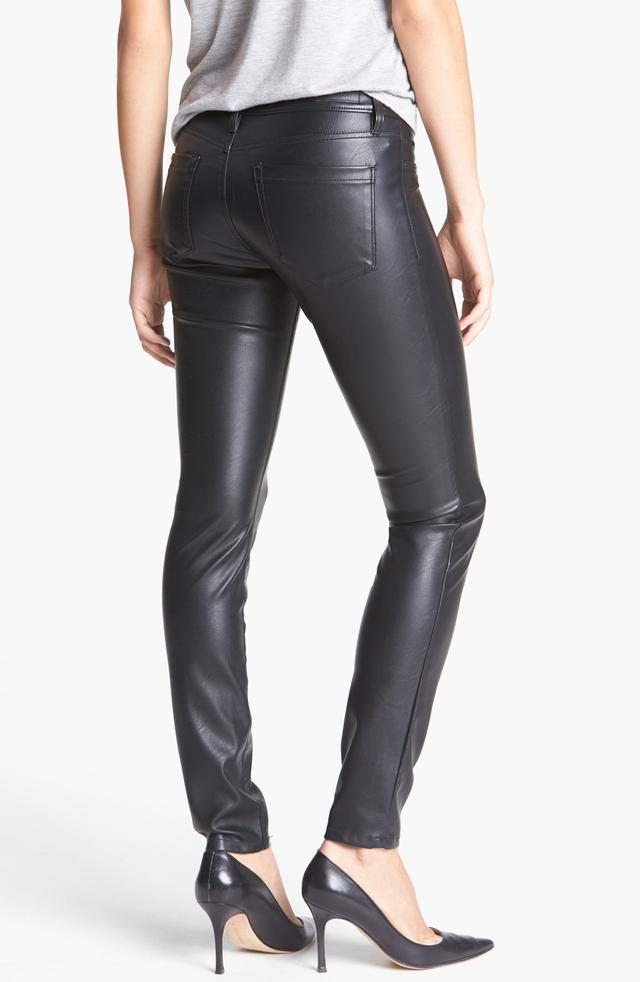 Faux Leather Skinny Pants Endource