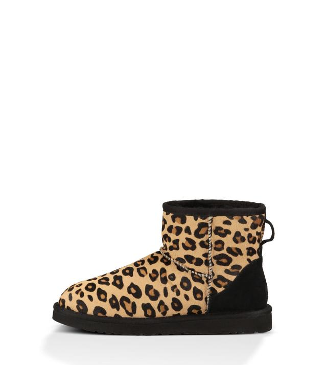 ugg mini classic leopard