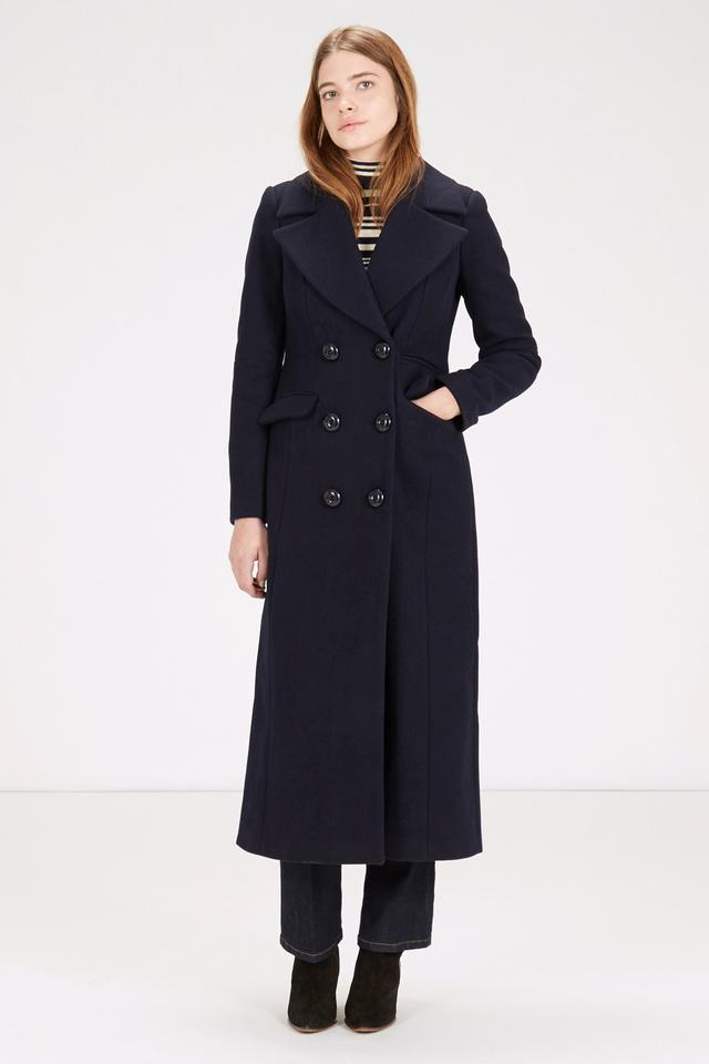 Fit and Flare Maxi Coat | Endource