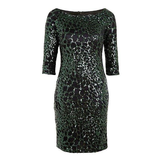 c3101d4e6be Sequin Bardot Dress | Endource