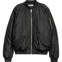 Plain Bomber Jacket | Endource