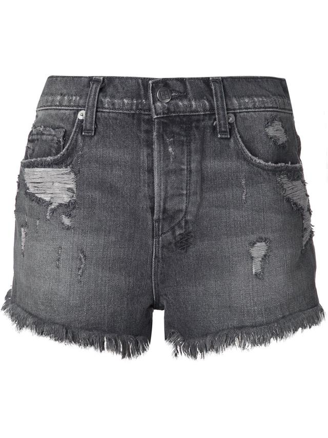 faded distressed shorts endource