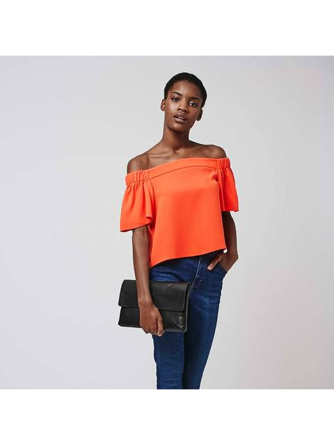 5c953c25ffd12 Structured Bardot Top