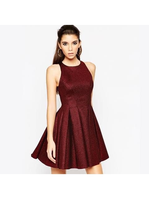 501a629426724 Premium Bonded Skater Dress