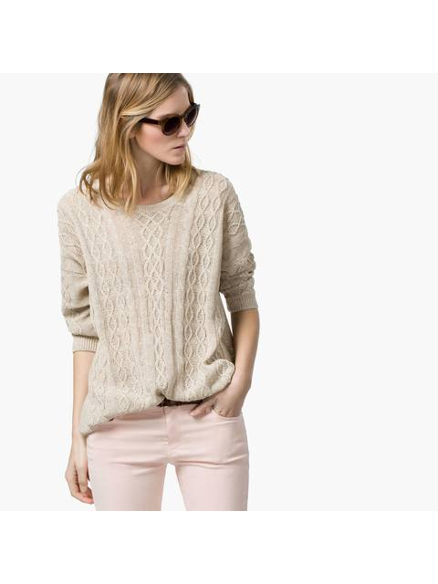 Shimmer Cable-Knit Sweater   Endource 9258c6b3e3