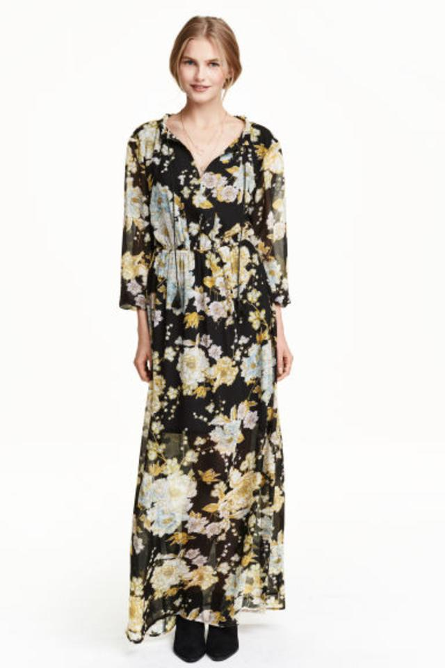 Chiffon dress h&m