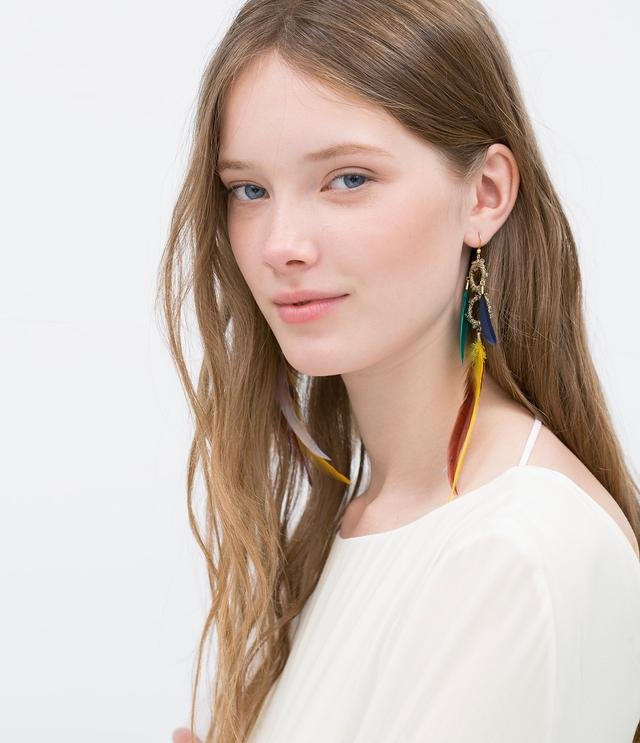 Extremely Long Earrings