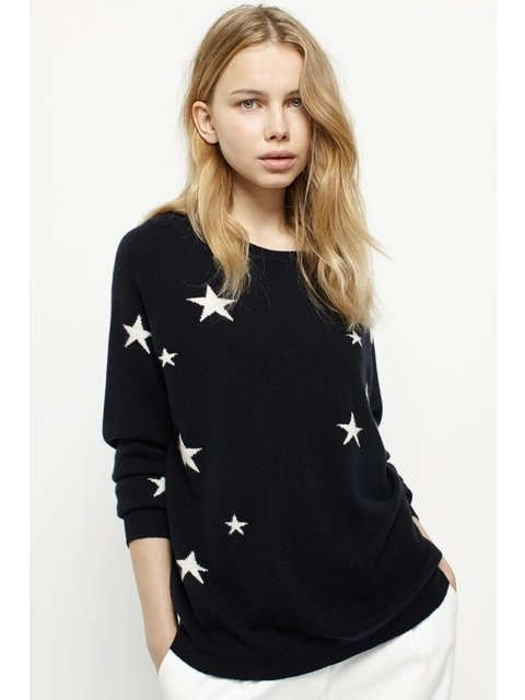 66c6a0b98d Slouchy Star Cashmere Sweater