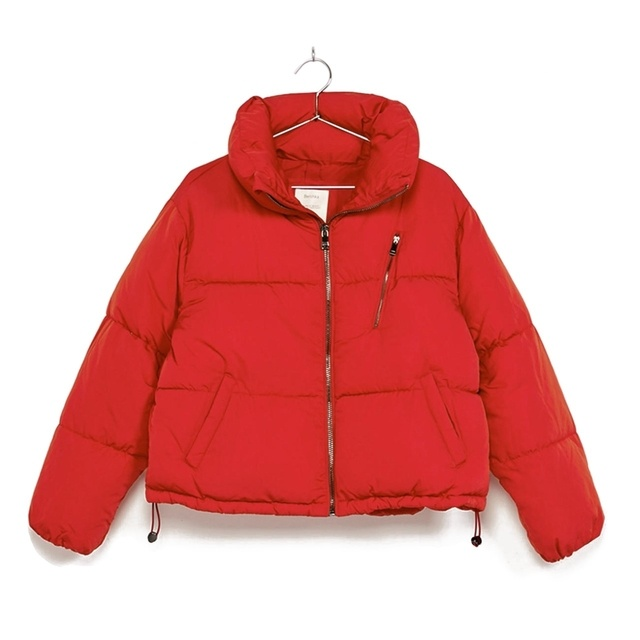Puffy Cropped Jacket Endource