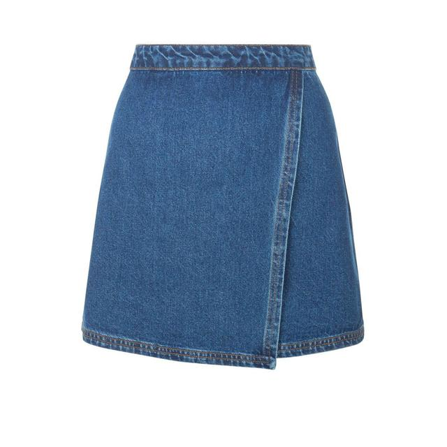 Denim Wrap Skirt | Endource