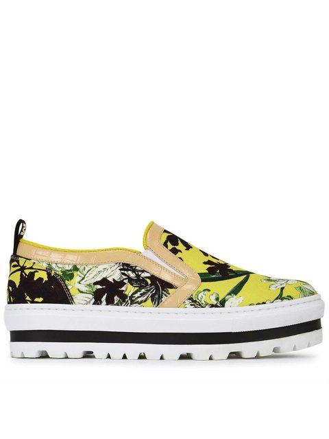 38ad2249649b Floral Flatform Skate Shoes