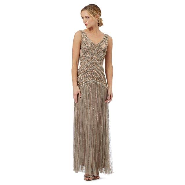 Electra Beaded Maxi Dress | Endource