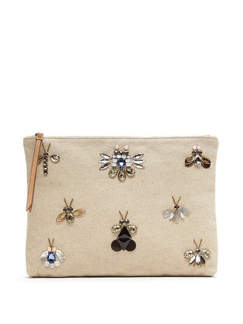 92a8db96c9 Jewelled Bug Pouch
