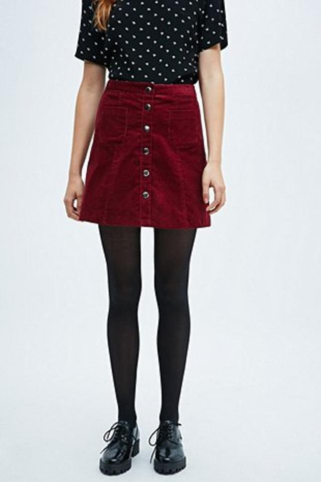 Cooperative A-Line Cord Skirt | Endource