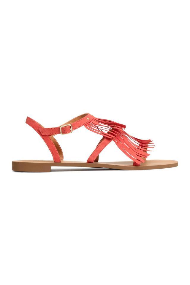 0881cf07c Sandals With Fringes
