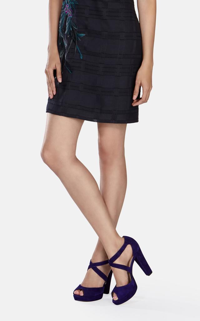 Karen Millen Suede Platform Sandals sale choice y648Og0