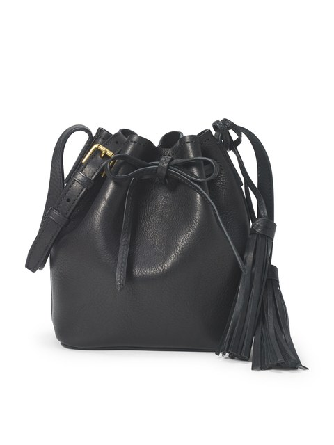 34b33bb126 Mini Leather Bucket Bag