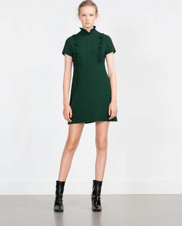 d0b614c1 Short Sleeve Ruffle Dress | Endource