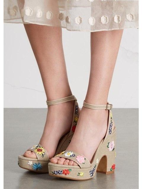 ce9c8282e904 Calla Floral Embroidered Sandals