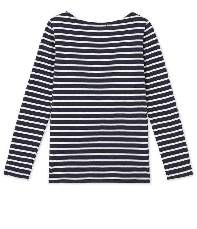 Striped long sleeve t shirt endource for Petit bateau striped shirt
