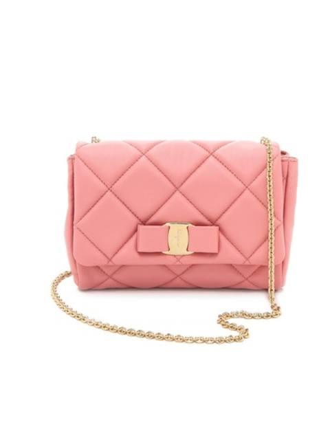 aeaf8b32e0a5 Miss Vara Bow Soft Quilted Shoulder Bag
