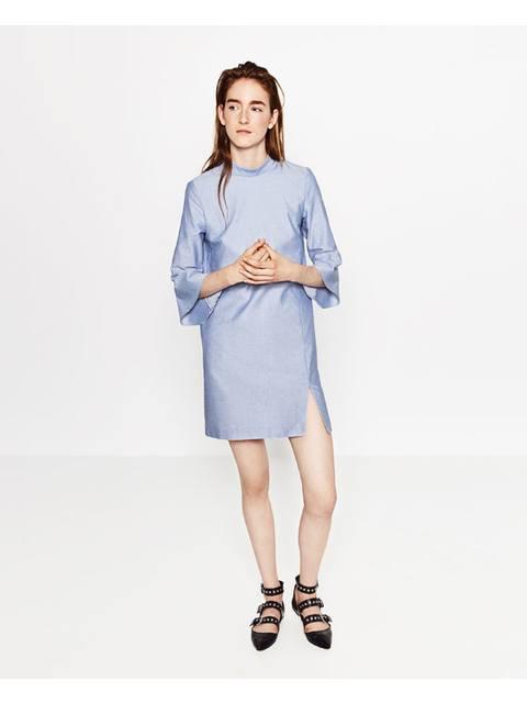 7b0b8570c907 Flounce Sleeve Dress   Endource