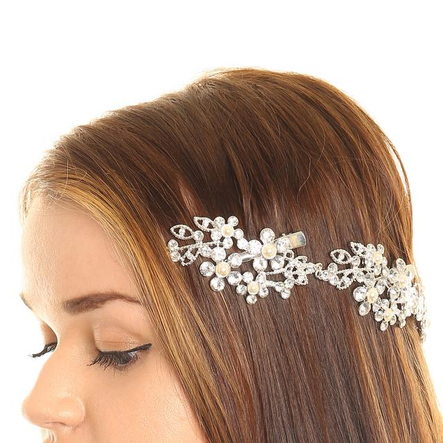Flower Decorative Hair Swag | Endource