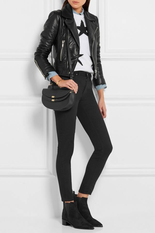 chloe fake handbags - Georgia Mini Leather Shoulder Bag | Endource