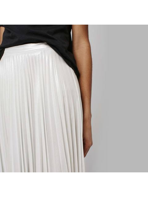 bc536af35 Iridescent Pleat Skirt | Endource