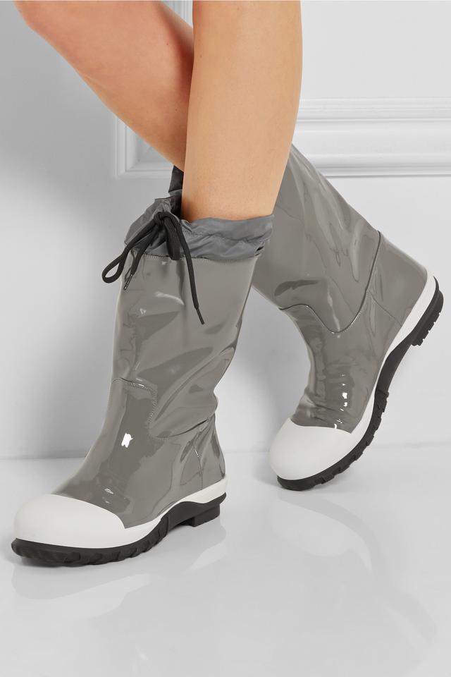 Miu Miu Patent Leather Wellington Boots vrXREaj3n