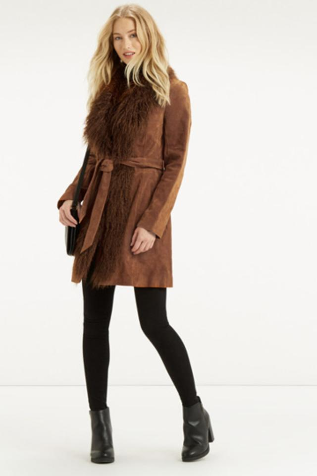Suede Sheepskin Coat | Endource